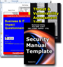 Security Policies and Procedures Manual Template